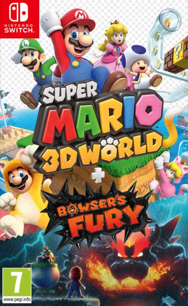 SWITCH Super Mario 3D World and Bowsers Fury