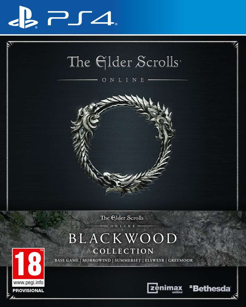PS4 The Elder Scrolls Online - Blackwood Collection