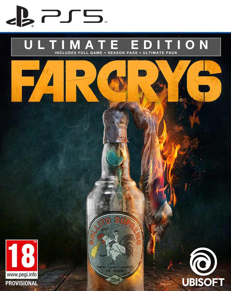 PS5 Far Cry 6 - Ultimate Edition