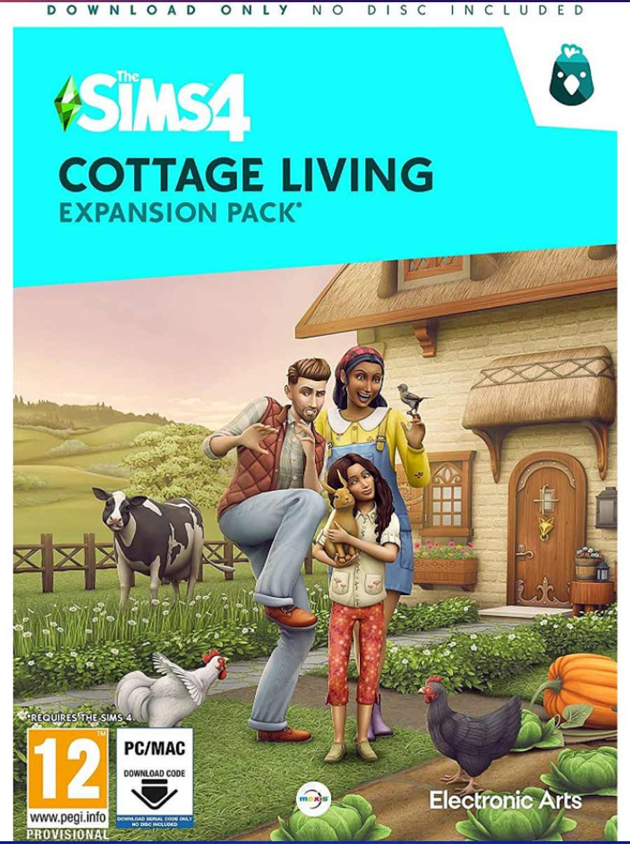 PCG The Sims 4 - Cottage Living Expansion