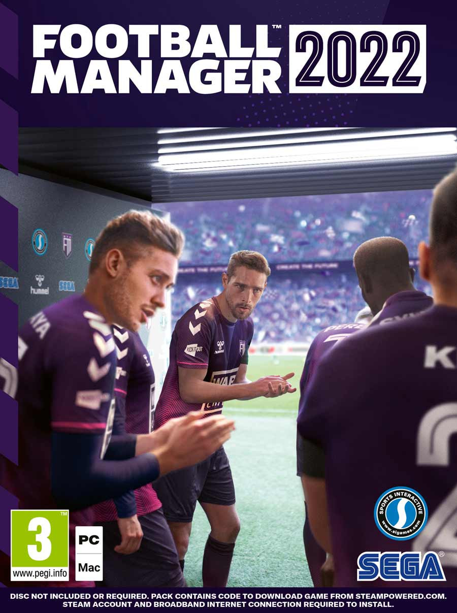 PCG Football Manager 2022
