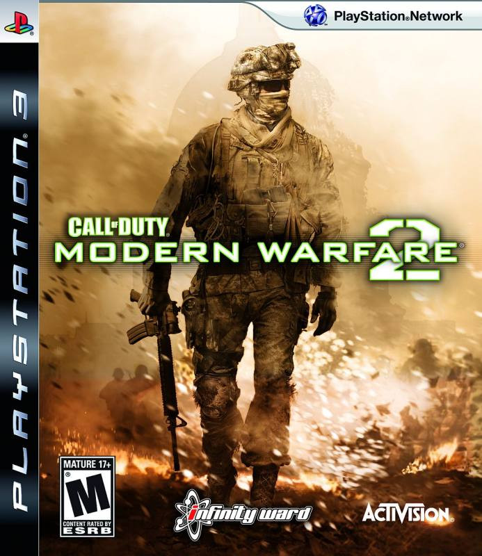 PS3 Call of Duty - Modern Warfare 2