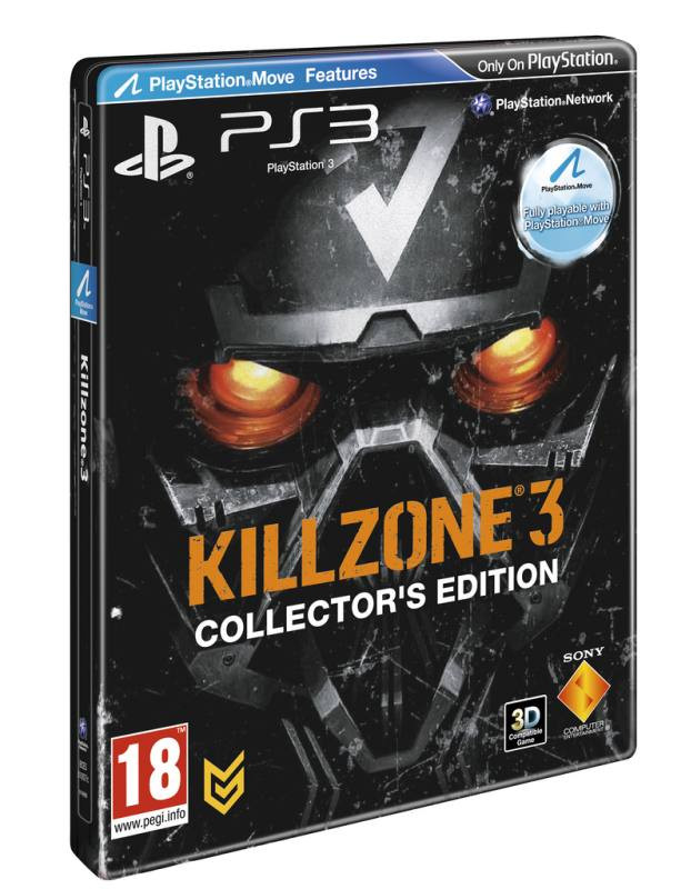 PS3 Killzone 3 Steelbook