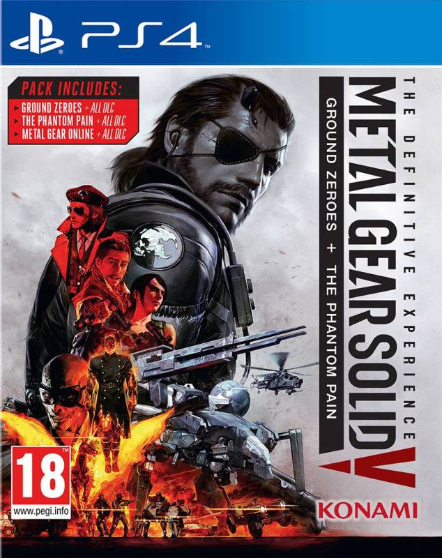 PS4 Metal Gear Solid 5 - The Defitinitve Experience