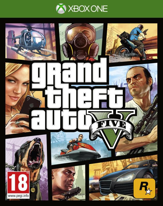 XBOX ONE Grand Theft Auto 5 ( GTA 5 )