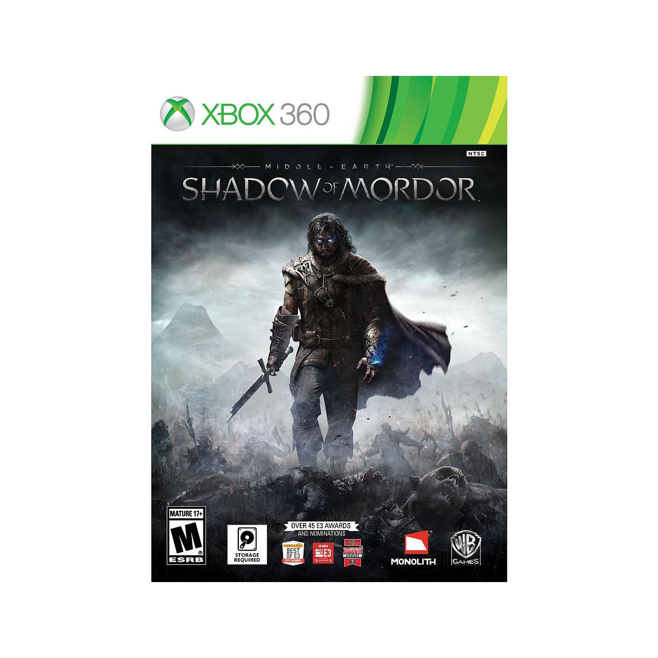 XBOX 360 Middle Earth Shadow of Mordor