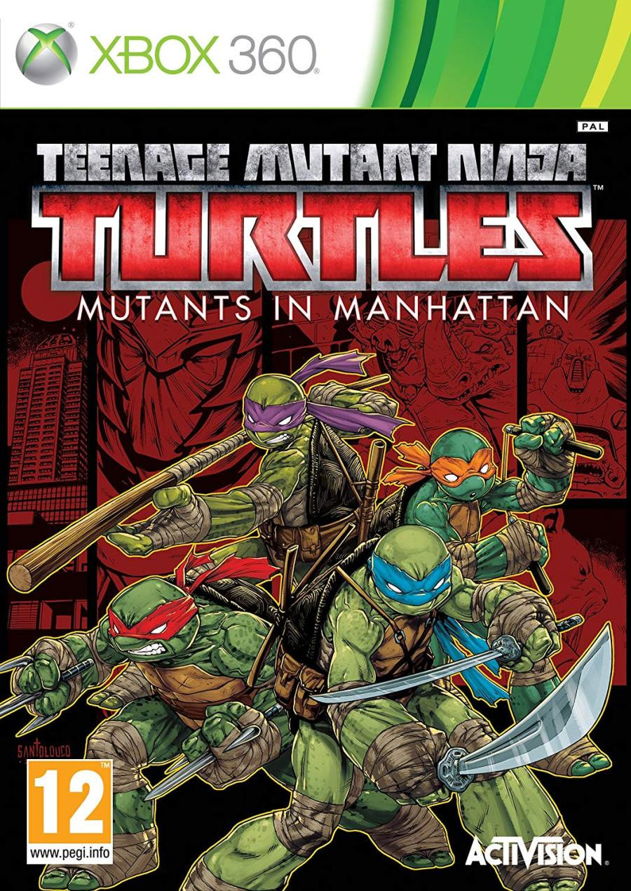 XBOX 360 Teenage Mutant Ninja Turtles – Mutants In Manhatten