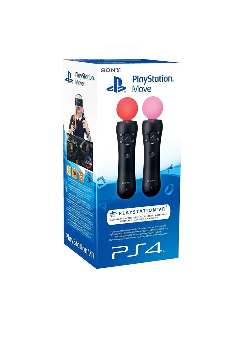 Kontroler Playstation Move Motion Twin Pack