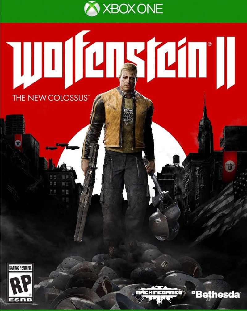 XBOX ONE Wolfenstein 2 - The New Colossus