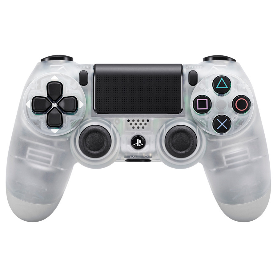 Dualshock 4 Wireless Controller PS4 Crystal Gamepad