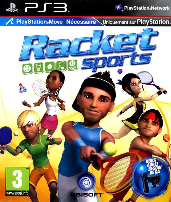 PS3 Racket Sports MOVE