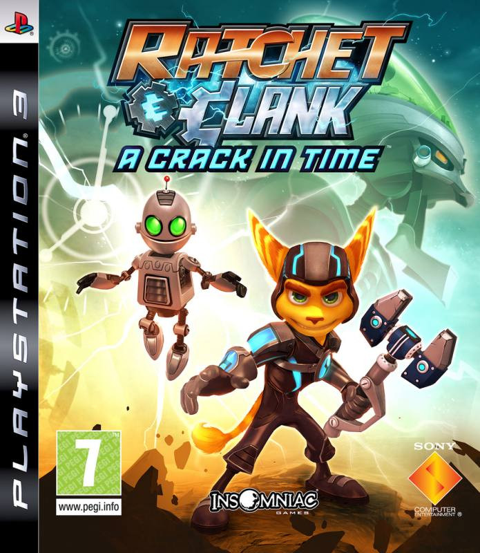 PS3 Ratchet And Clank - A Crack In Time