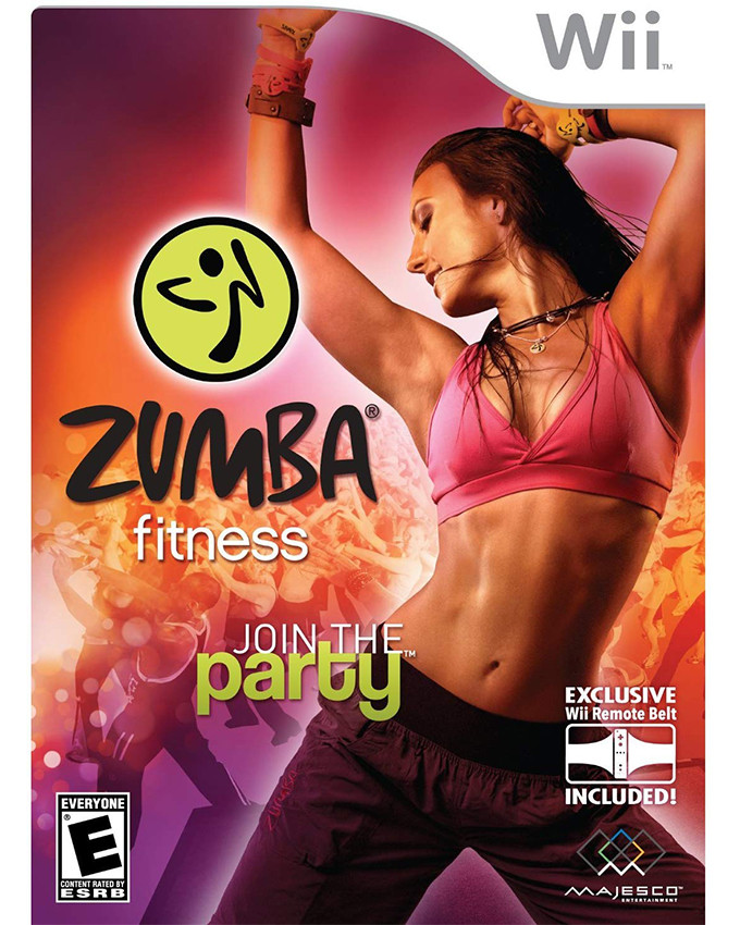 Wii Zumba Fitness Join the Party + Hardver