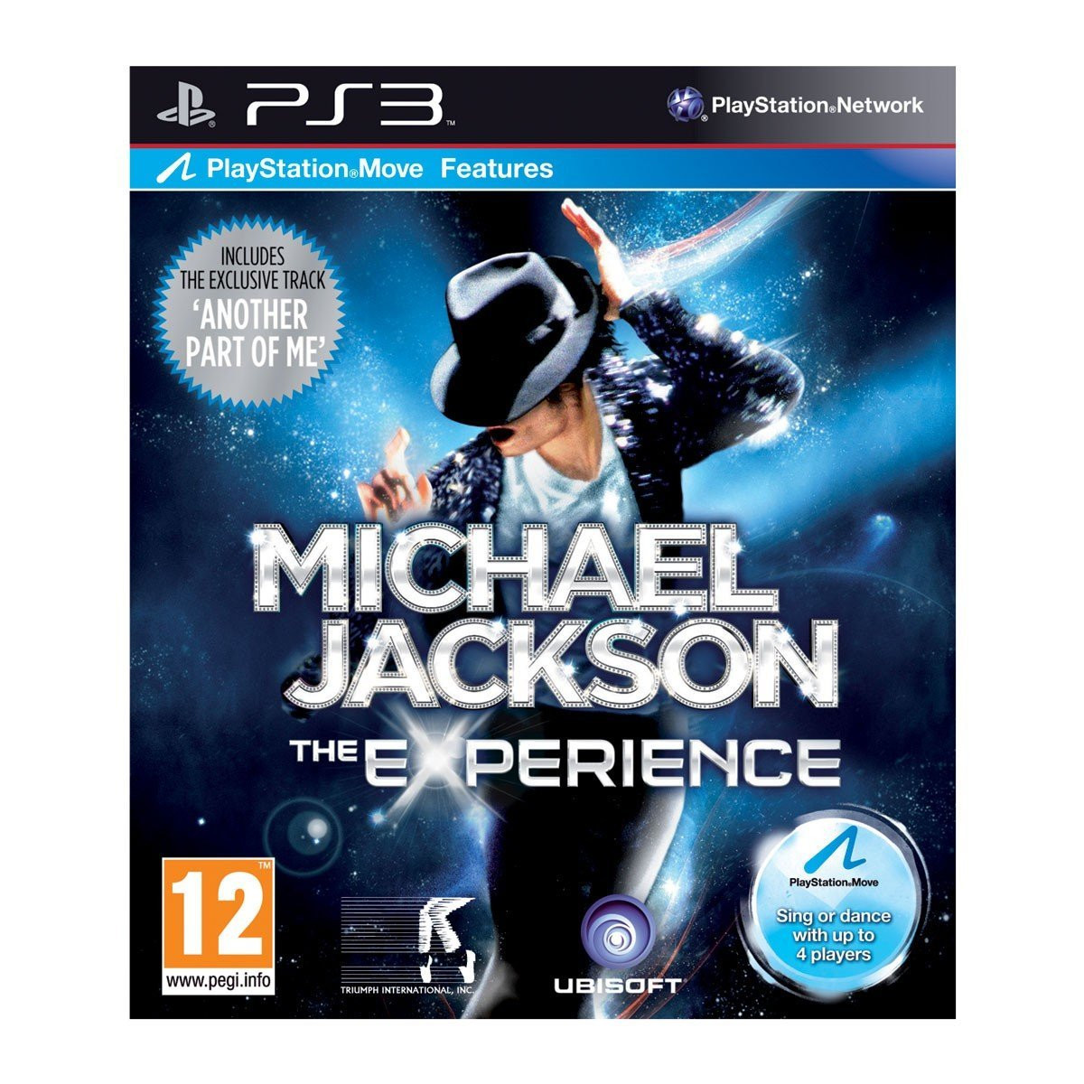 PS3 Michael Jackson - The Experience MOVE