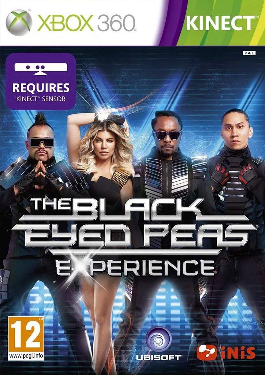 XBOX 360 The Black Eyed Peas Experience KINECT