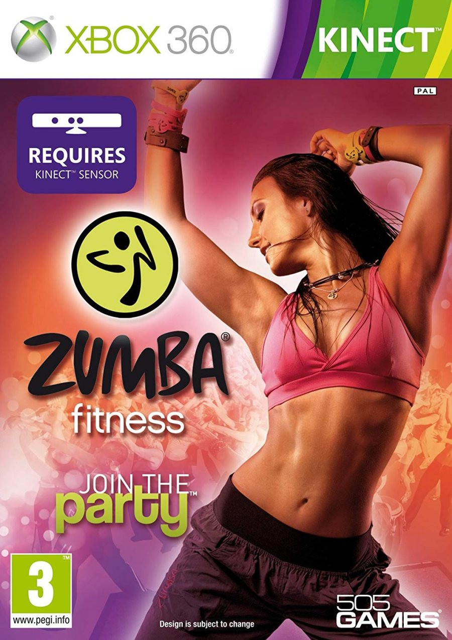 XBOX 360 Zumba Fitness Join The Party KINECT