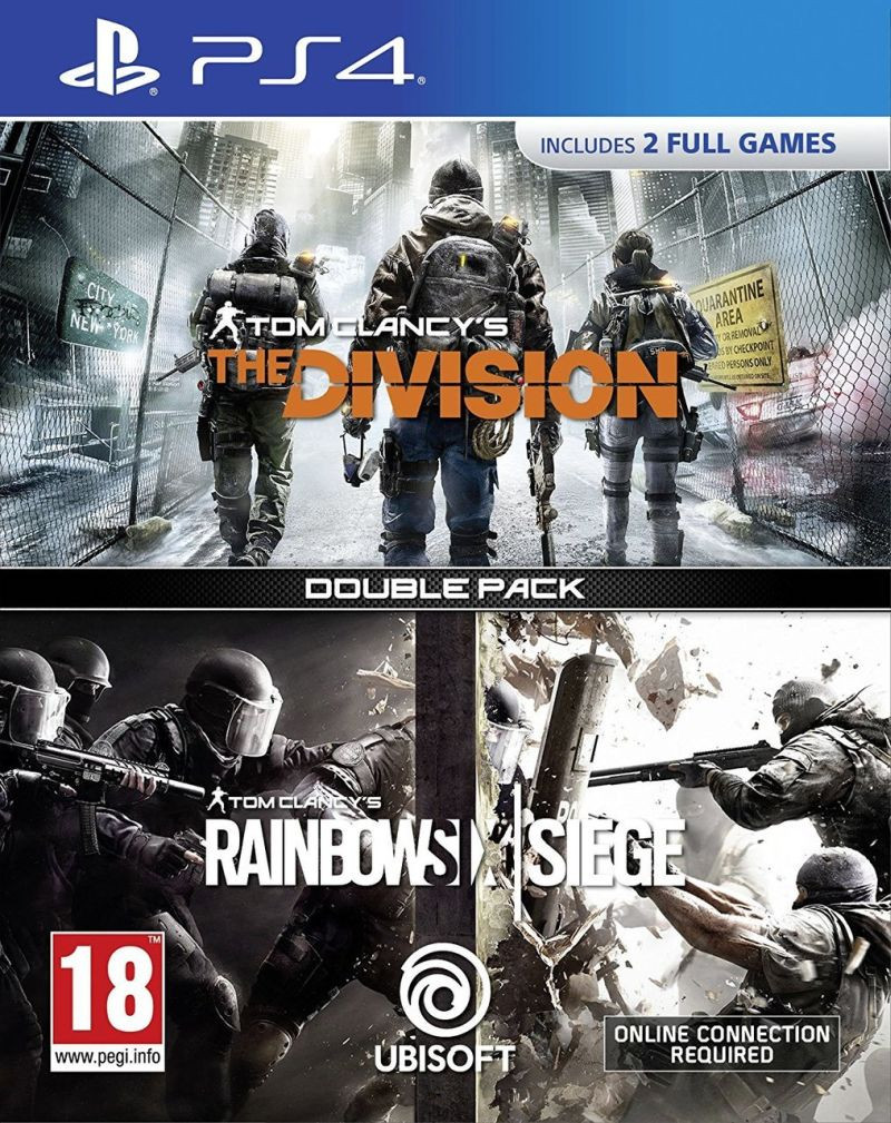 PS4 Tom Clancys Rainbow Six: Siege + The Division