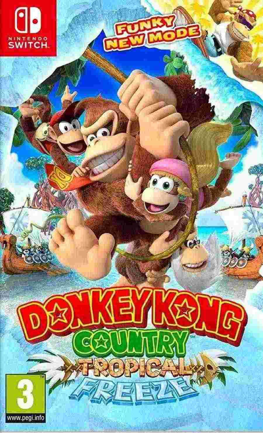 SWITCH Donkey Kong Country - Tropical Freeze igrica za Nintendo Switch