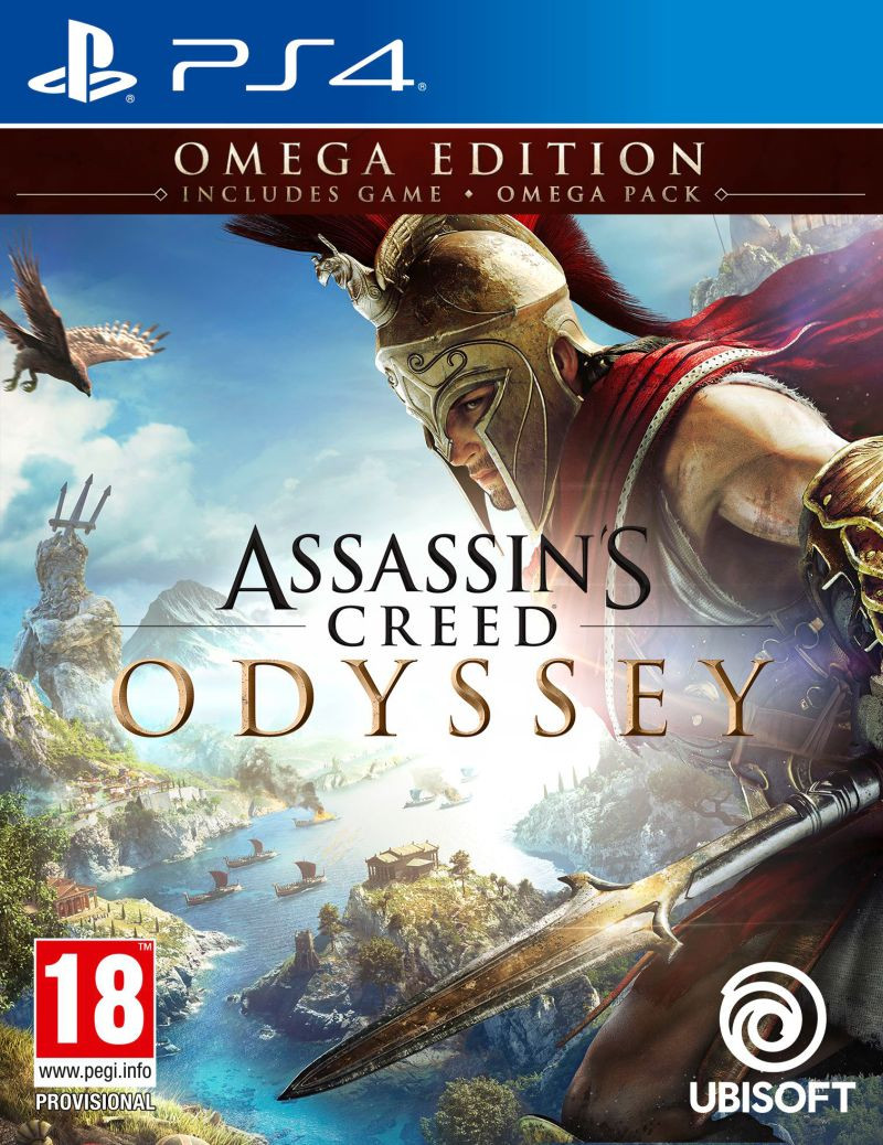 PS4 Assassins Creed Odyssey - OMEGA Deluxe Edition
