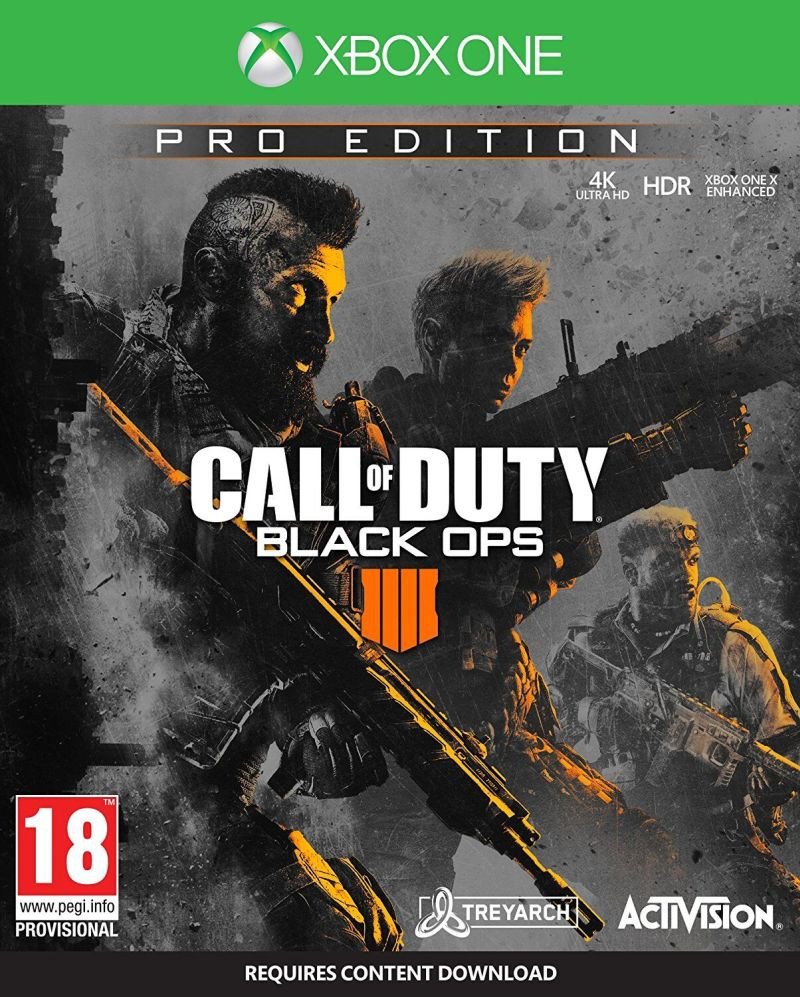 XBOX ONE Call of Duty - Black Ops 4 PRO Edition