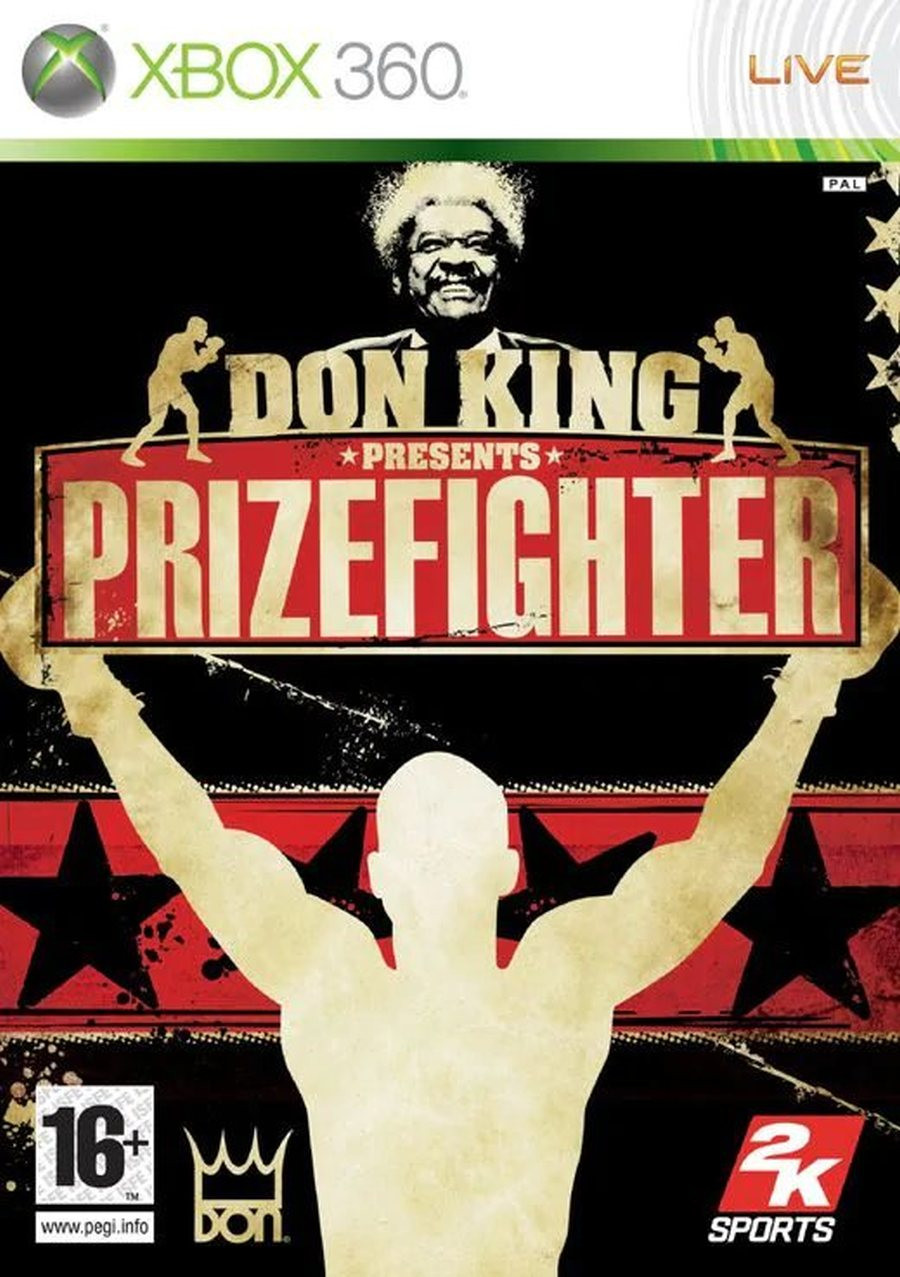 XBOX 360 Don King Prizefighter