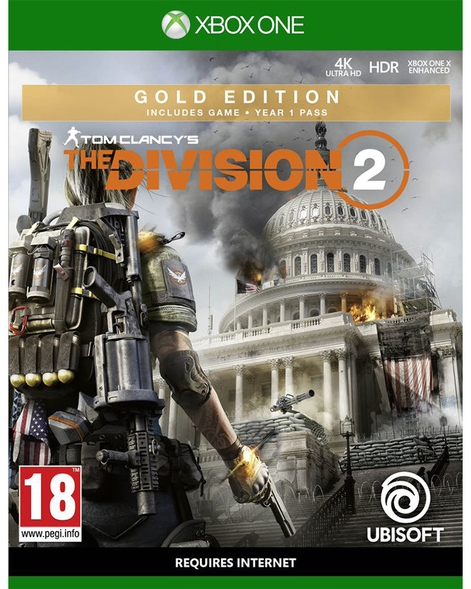XBOX ONE Tom Clancys: The Division 2 Gold Edition