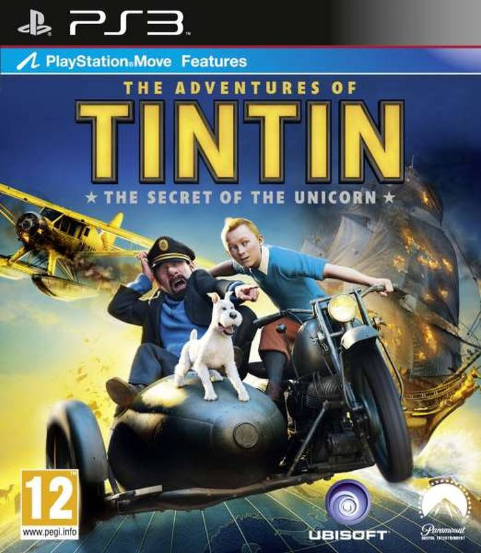 PS3 The Adventures of Tintin