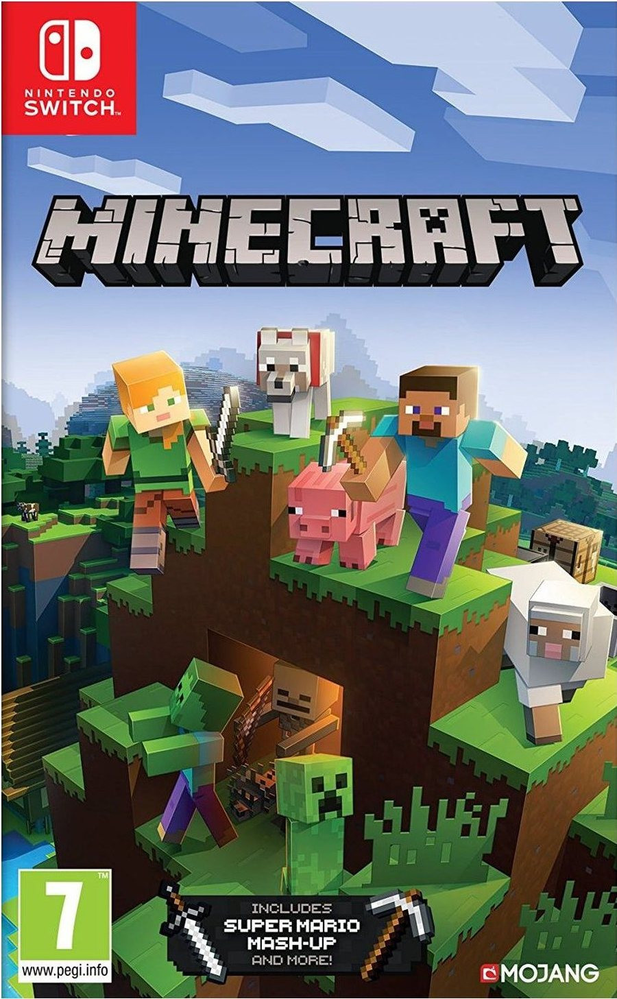 SWITCH Minecraft Bedrock Edition - igrica za Nintendo Switch