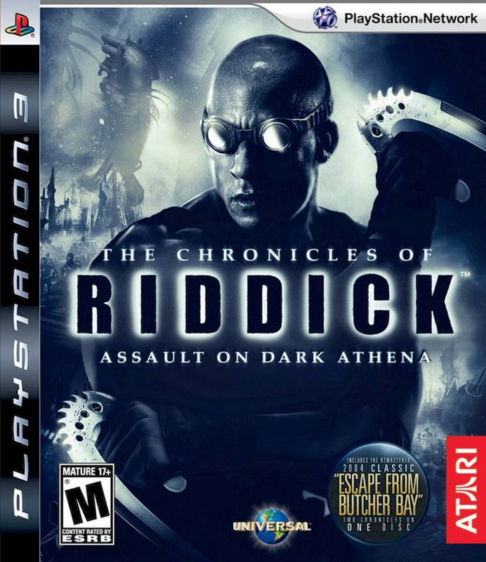 PS3 The Chronicles of Riddick - Assault on Dark Athena