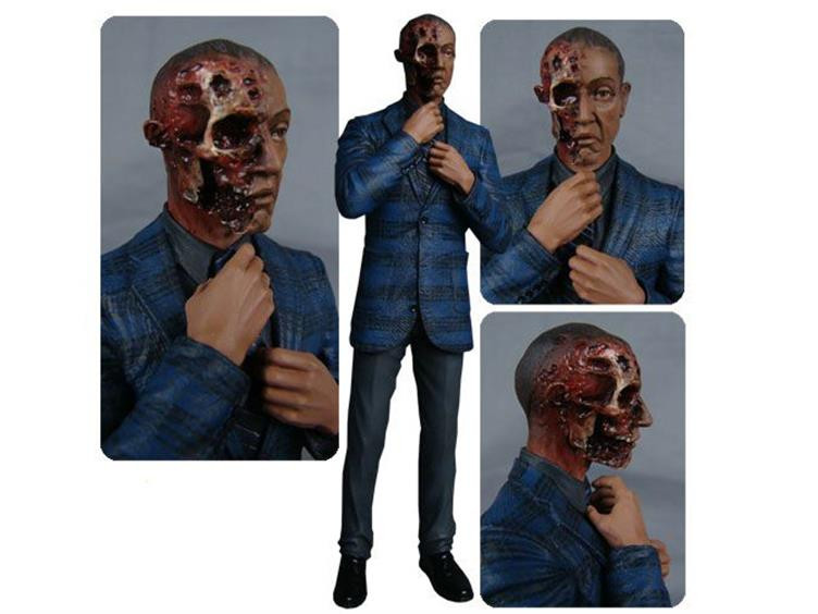 Figura Breaking Bad – Gus Fring Burned Face Figure Exclusive