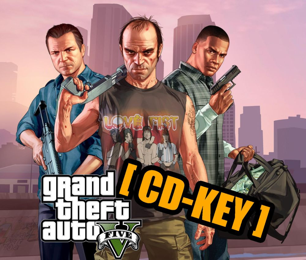 PCG GTA 5 ONLINE - Grand Theft Auto V CD-KEY