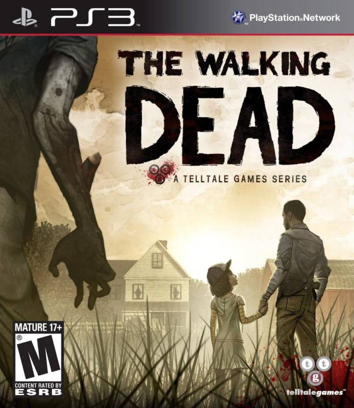 PS3 The Walking Dead