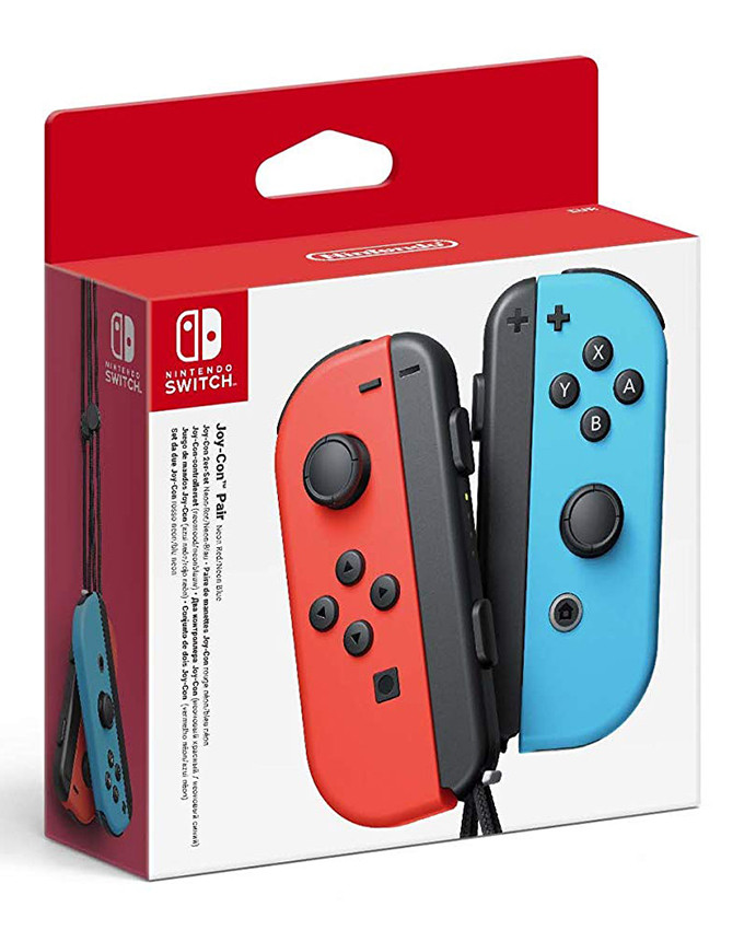 Gamepad Nintendo SWITCH Joy-Con par (Red and Blue)