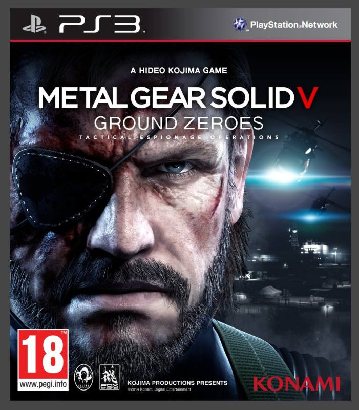 PS3 Metal Gear Solid 5 - Ground Zeroes