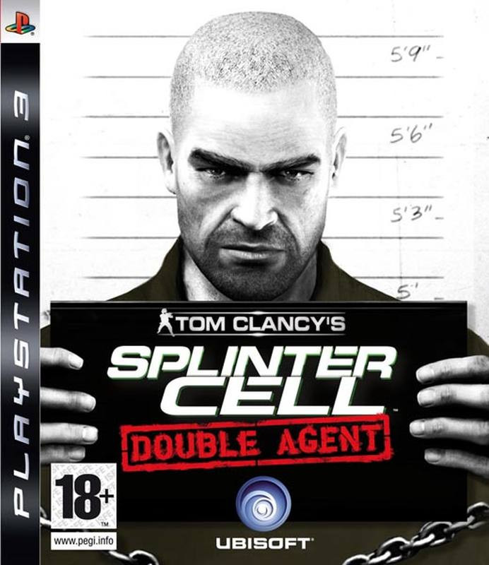PS3 Splinter Cell - Double Agent