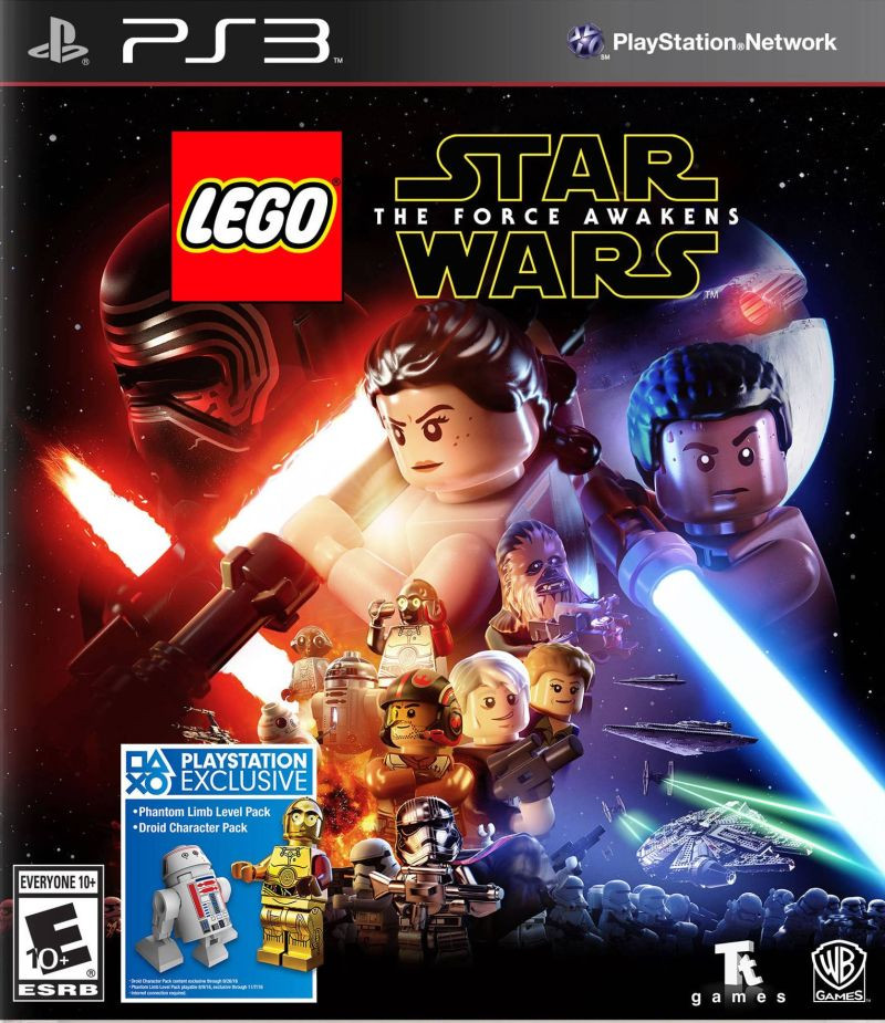 PS3 LEGO Star Wars The Force Awakens