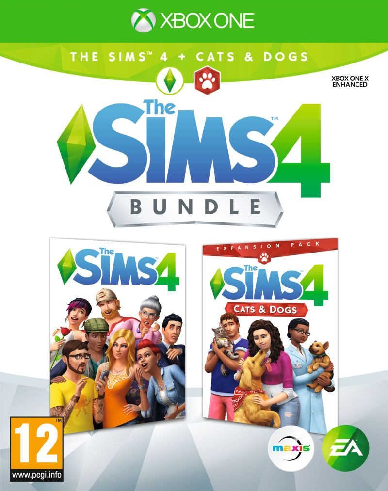 XBOX ONE The Sims 4 + Cats & Dogs