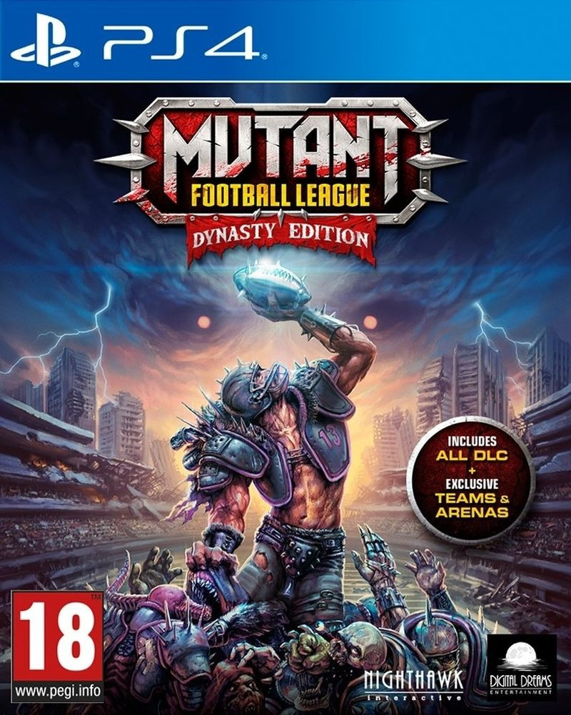 PS4 Mutant Football League - Dynasty Edition