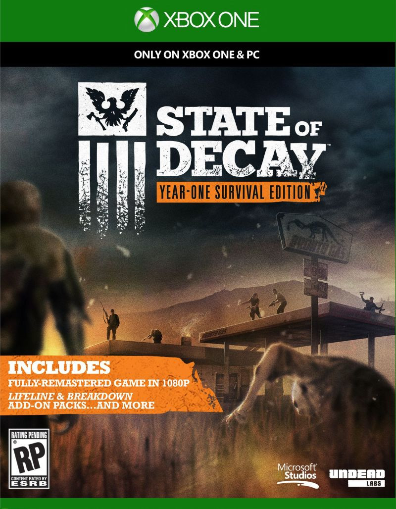 XBOX ONE State of Decay Year One Survival Edition
