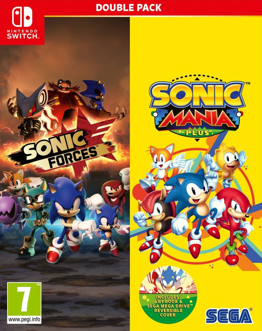 SWITCH Sonic Mania Plus and Sonic Forces Double Pack