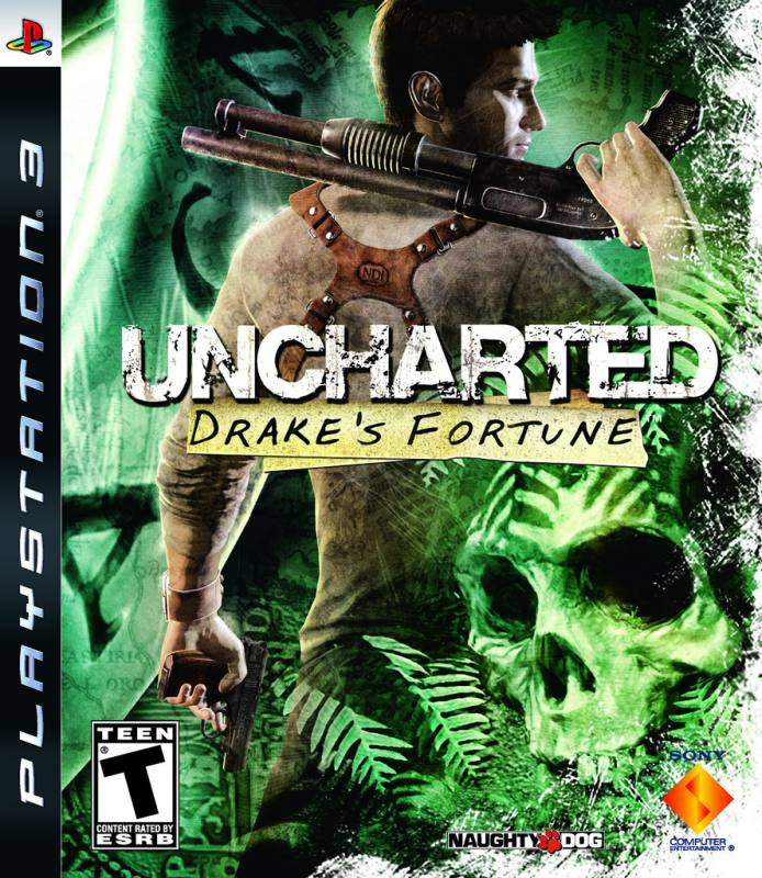 PS3 Uncharted - Drakes Fortune