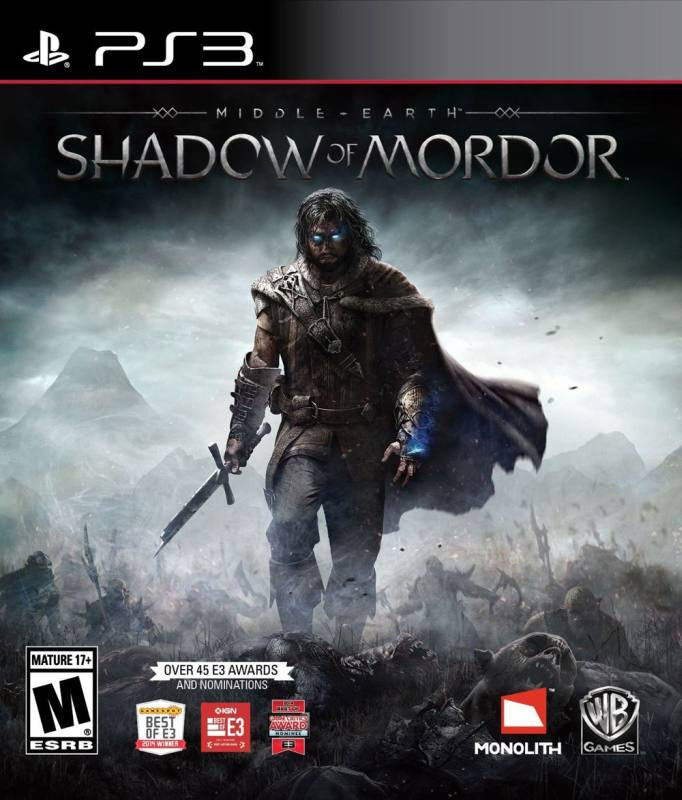 PS3 Middle Earth - Shadow of Mordor