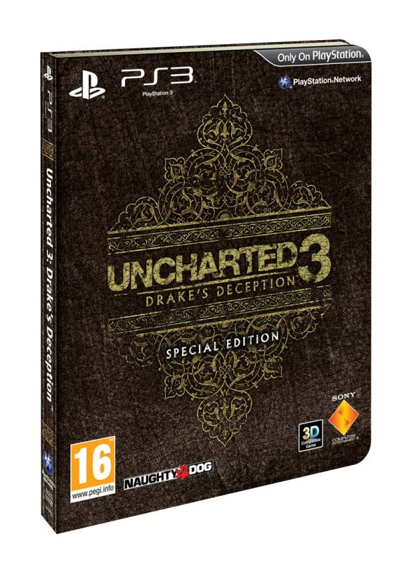 PS3 Uncharted 3 Drake`s Deception - Special Edition