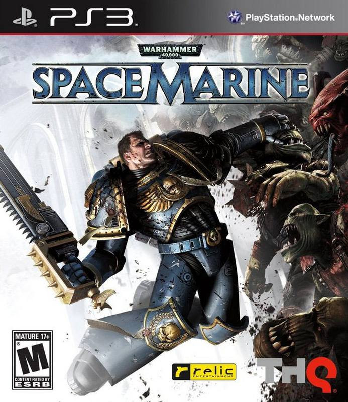 PS3 Warhammer 40.000 Space Marine First Edition