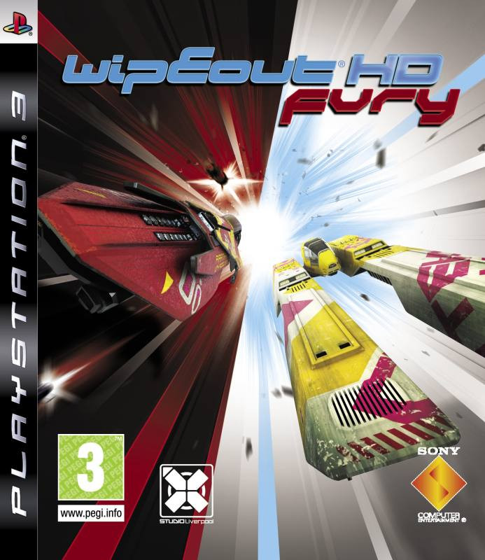 PS3 Wipeout HD Fury