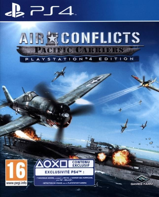 PS4 Air Conflicts - Pacific Carriers