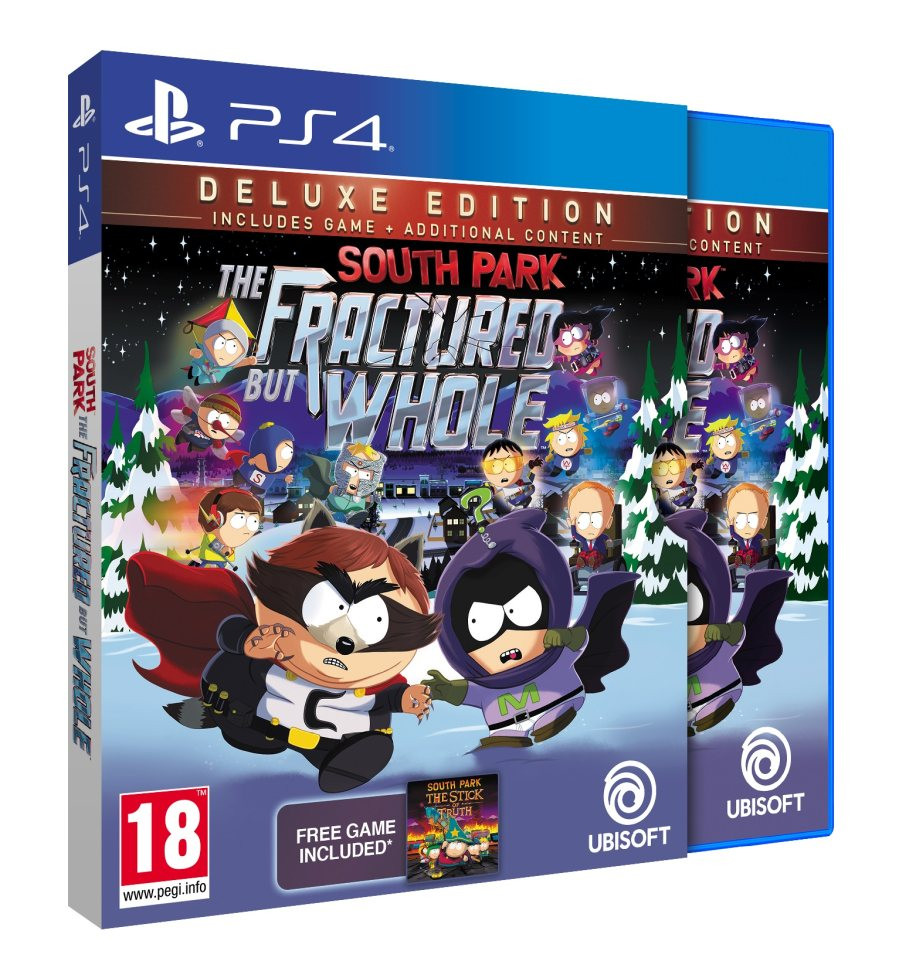 PS4 South Park The Fractured But Whole - Deluxe Edition