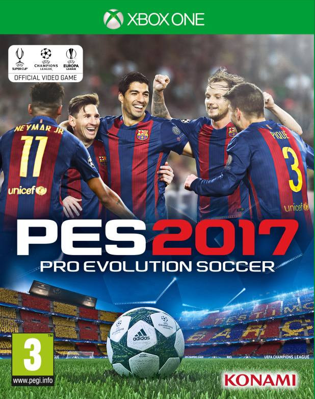 XBOX ONE Pro Evolution Soccer 2017 PES 2017