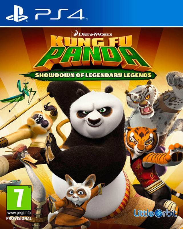 PS4 Kung Fu Panda - Showdown of Legendary Legends