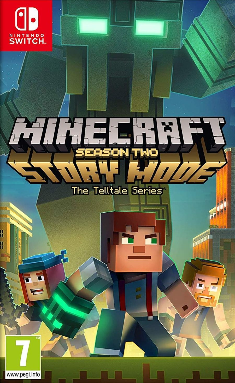 SWITCH Minecraft Story Mode Season 2